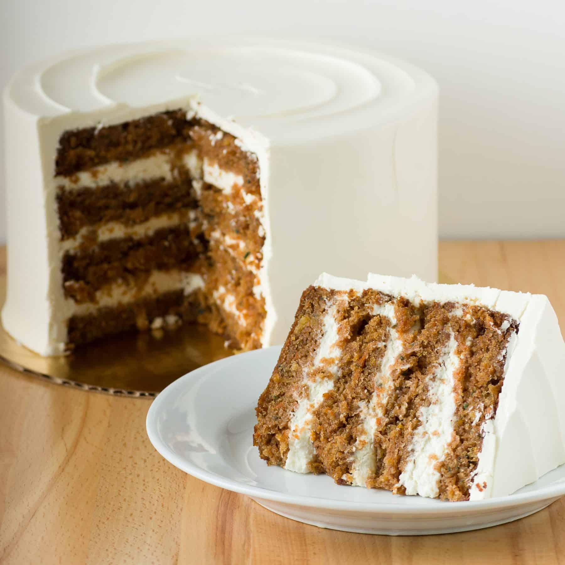 Seasonal Carrot Cake