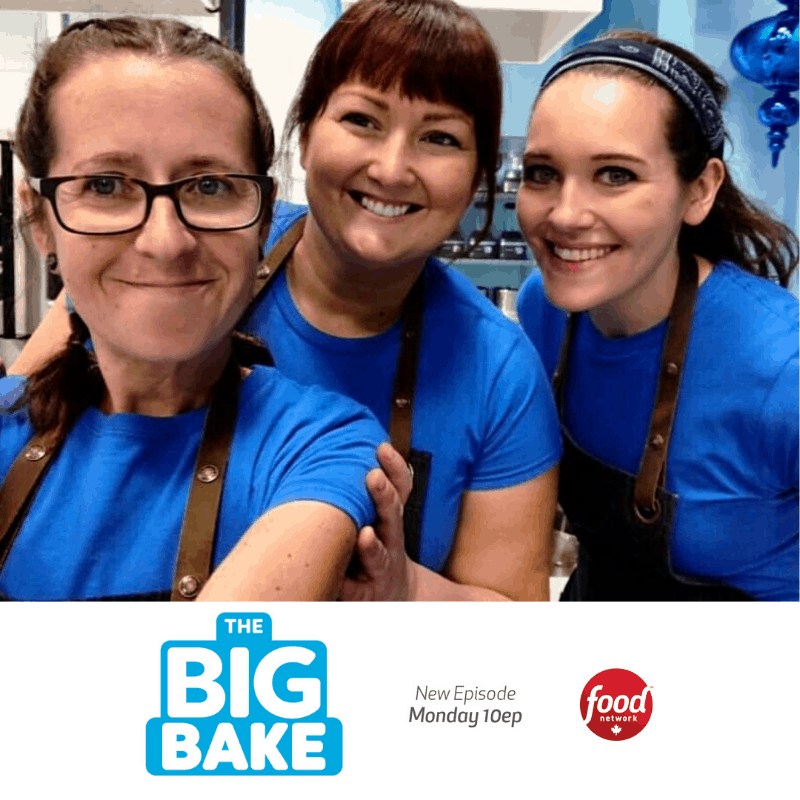 Meringue Bakery Staff Compete in Food Network Canada's The Big Bake