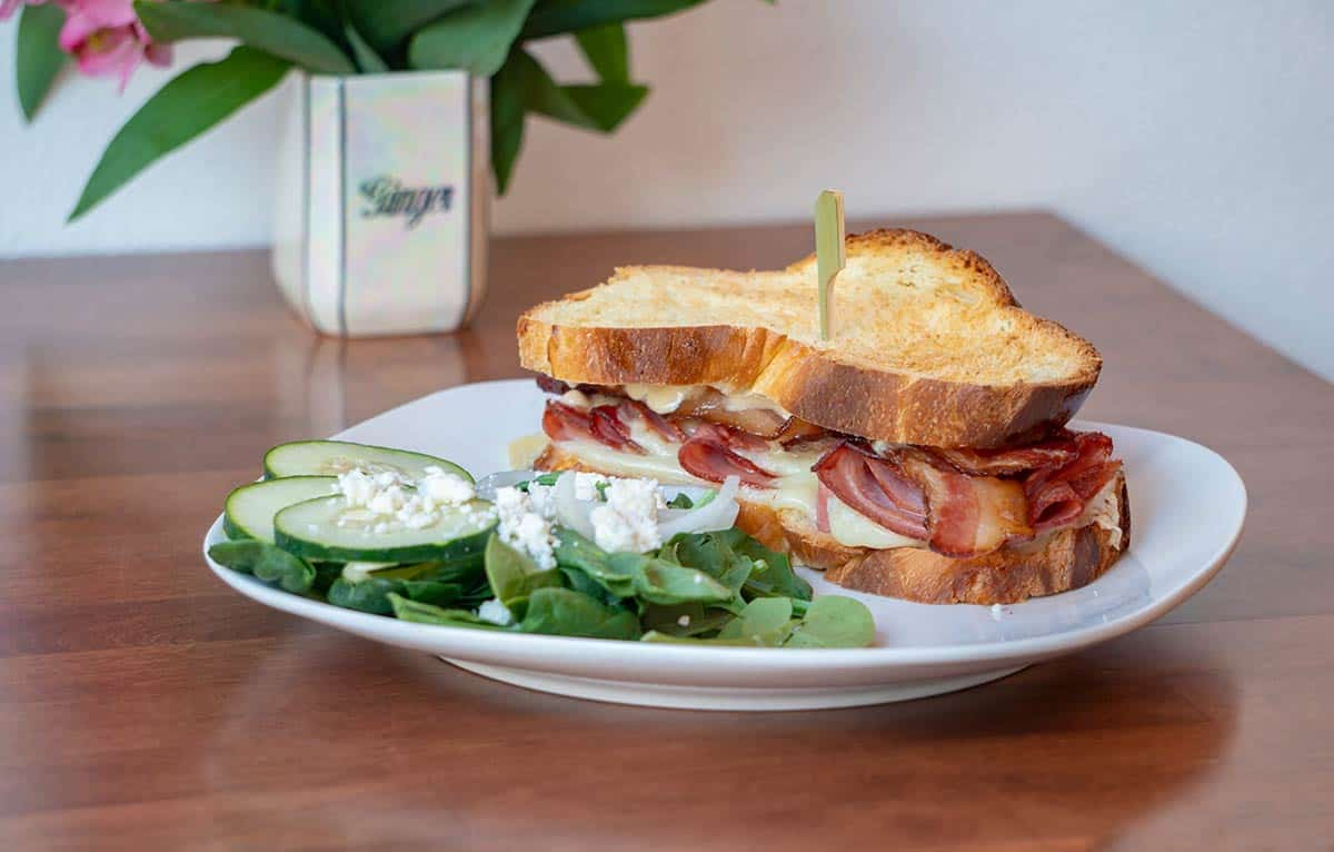Ham Gruyere Sandwich