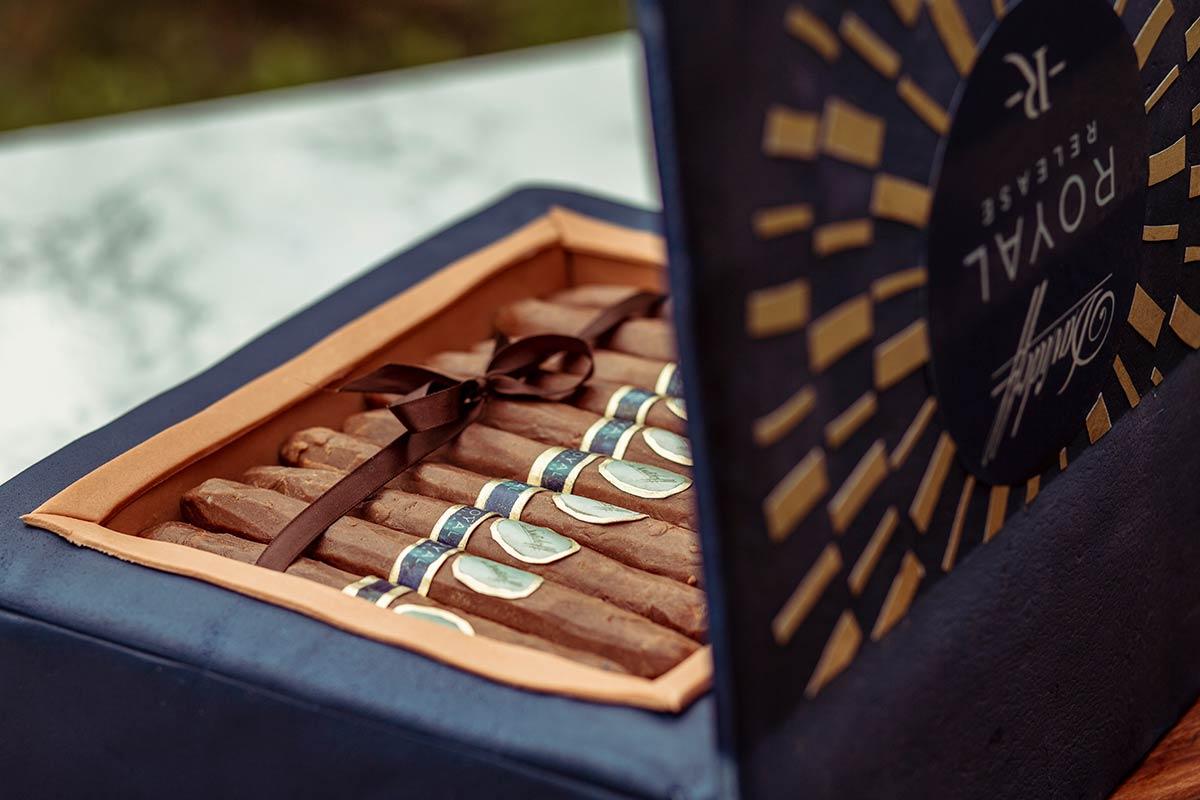 Groom's Cigar Box Cake